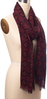 The Limited Damask Print Scarf