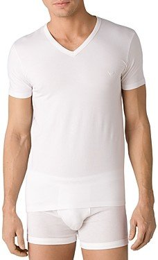 Giorgio Armani Emporio Stretch Cotton V-Neck T-Shirt