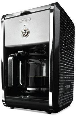 Bella 13869 Black Dots Coffee Maker, 12 Cup