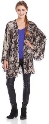 Somedays Lovin Women's Cobra Print Kimono