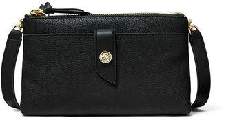 MICHAEL Michael Kors Medium Pebbled Leather Double-zip Crossbody Bag