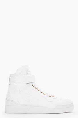 Givenchy white leather strap Sneakers