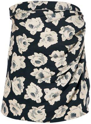 Ungaro Vintage floral print sleeveless top