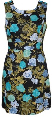 Forever 21 Floral Beat Woven Dress