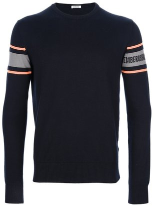Bikkembergs crew neck sweater