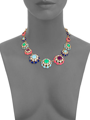 Kate Spade Putting On The Ritz Multicolor Graduated Necklace