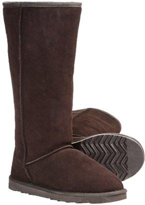"""LAMO Footwear Sheepskin Classic 14"""" Boots - Shearling Lining (For Women)"""