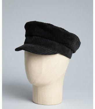John Varvatos black corduroy 'Sailor' hat