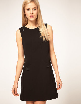 Asos Shift Dress with Buttons