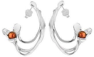 Hagit Gorali Sterling Cultured Freshwater PearlFlower Earring