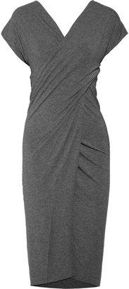 See by Chloe Jersey wrap-effect dress