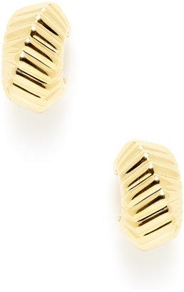 Tiffany & Co. Gold Small Hoop Earrings