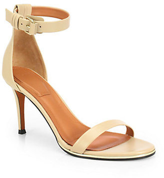Givenchy Leather Ankle-Strap Sandals