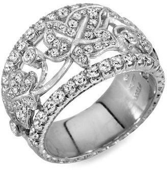 Jack Kelége Diamond Leaf Ring
