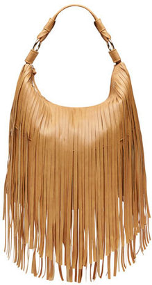 Dorothy Perkins Kardashian Kollection tan fringe large slouch