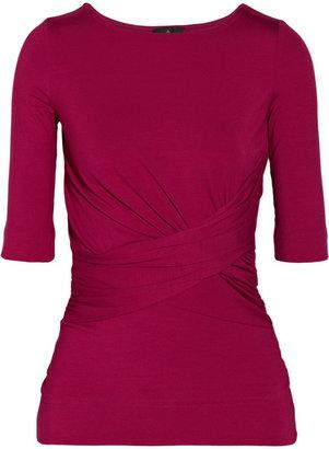 Vivienne Westwood Sihu draped stretch-jersey top