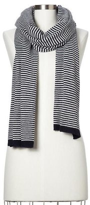 Gap Cashmere blend striped scarf