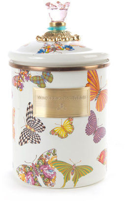 Mackenzie Childs MacKenzie-Childs Medium Butterfly Garden Canister