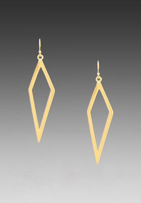 Trina Turk Diamond Stripe Earrings