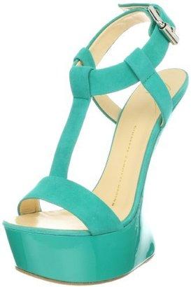 Giuseppe Zanotti Women's T-Strap Platform Wedge Sandal