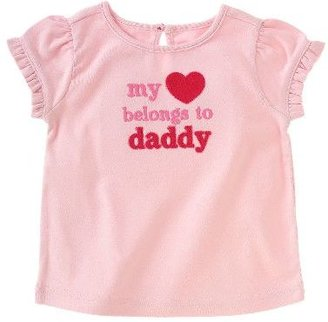 Gymboree My Heart Belongs to Daddy Tee