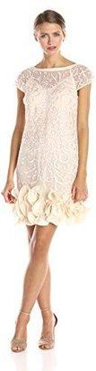Jessica Simpson Women's Ruffle Bottom Dress $188 thestylecure.com