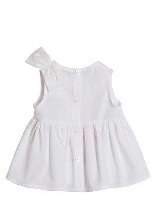Simonetta Printed Cotton Top