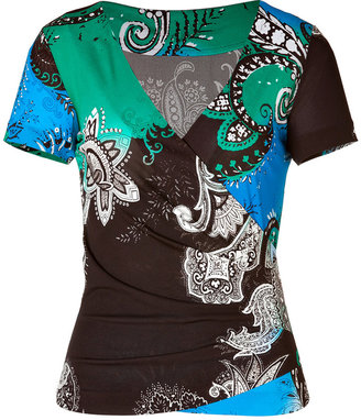 Etro Jersey Printed Top