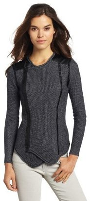 Plenty by Tracy Reese Women's Moto Cardigan Sweater