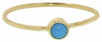 Jennifer Meyer Tiny Turquoise Ring - Yellow Gold
