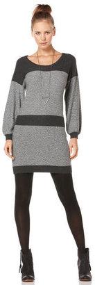C&C California 3⁄4 Sleeve Scoop Neck Tweed Sweater Dress