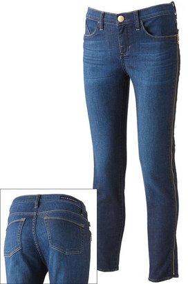 Rock & Republic banshee zipper crop skinny jeans - women's