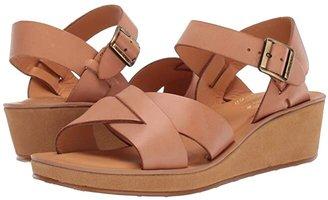Kork-Ease Myrna Vachetta (Natural) Women's Wedge Shoes