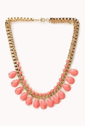Forever 21 Regal Bib Necklace
