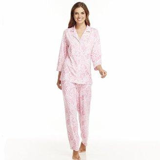 Chaps abbington place paisley pajama set