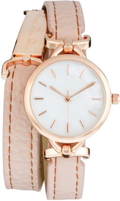 River Island Laugh Love Life Wrap Watch