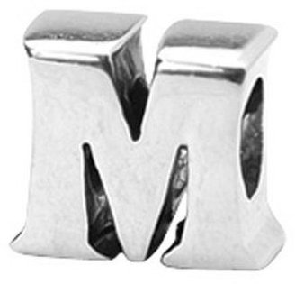 Prerogatives Sterling Alphabet Letter Bead