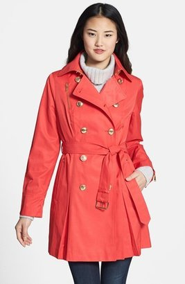 MICHAEL Michael Kors Double Breasted Trench Coat