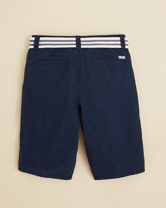GUESS Boys' Flat Front Belted Shorts - Sizes 8-20