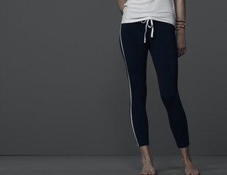 James Perse Skinny Stripe Yoga Pant