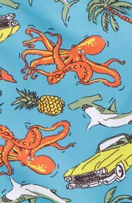 Tucker Toddler Boy's + Tate 'Sand 'N My Trunks' Swim Trunks
