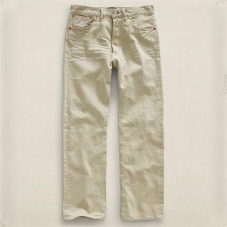 RRL Straight-Leg Chalk Dust Jean