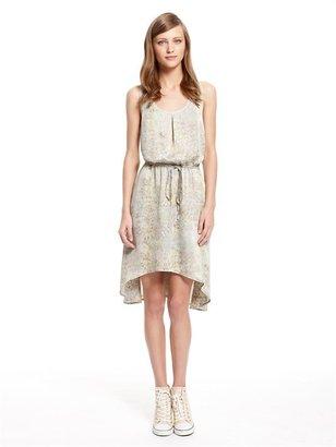 DKNY Grass Fields Print Dress