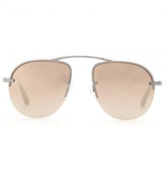 Prada Teddy aviator-style sunglasses