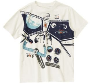 Crazy 8 Spaceship Tee