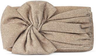 Jessica McClintock Handbag, Oversized Bow Clutch