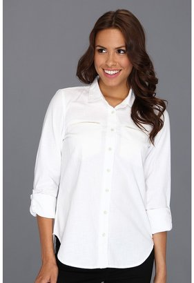 Calvin Klein Jeans Chambray Boyfriend Buttondown (White) - Apparel