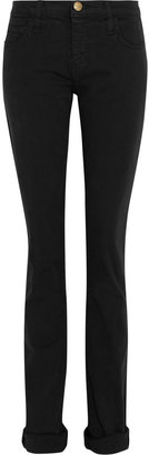Current/Elliott The Roller mid-rise straight-leg jeans