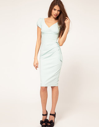 Hybrid Dress with Bow Side
