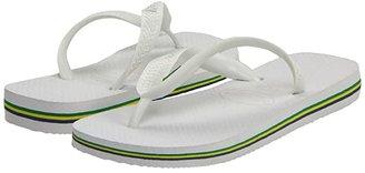 Havaianas Brazil Flip Flops (White) Women's Sandals